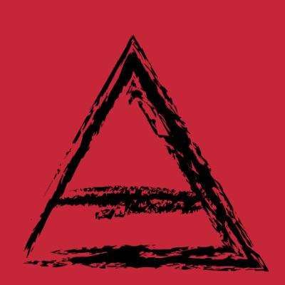 Triangle Line Down