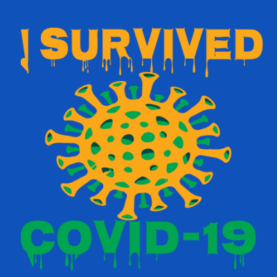 I Survived Covid-19 Germs