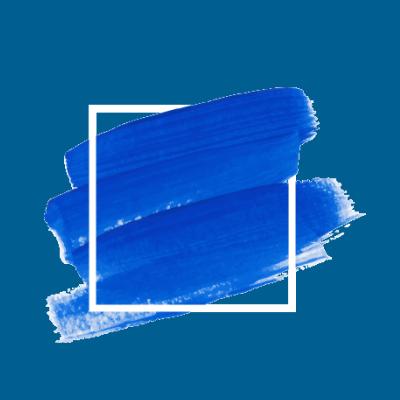 Blue Text Backdrop