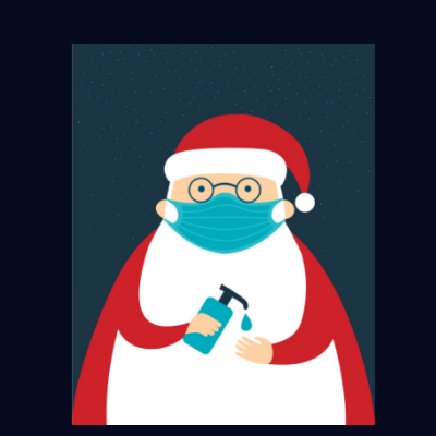 Sanitizer Santa