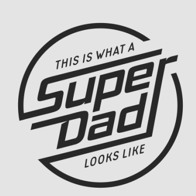 This is What A SuperDad Looks Like