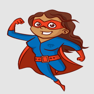 Brown Supergirl