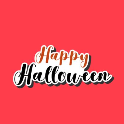 Happy Halloween Red