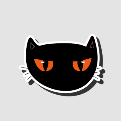 Halloween Cat Face