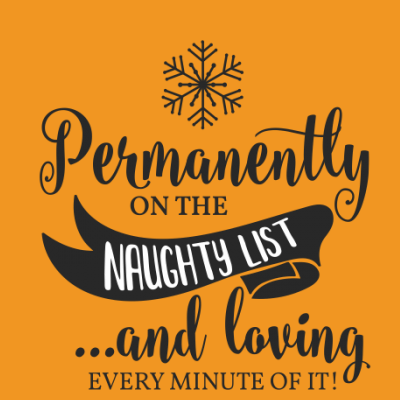 Permanently on the Naughty List