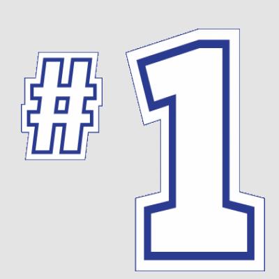 #1 White