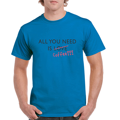 All You Need Is Coffee Not Love