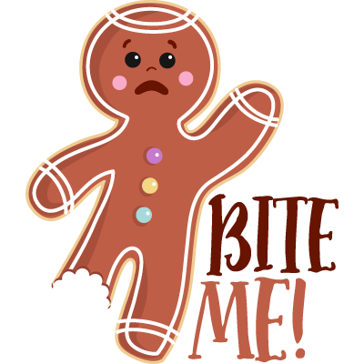 Bite Me Gingerbread