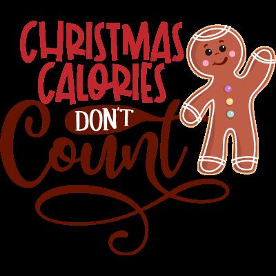 Christmas Calories Don't Count En