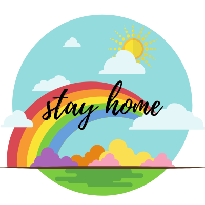 Stay Home Circle