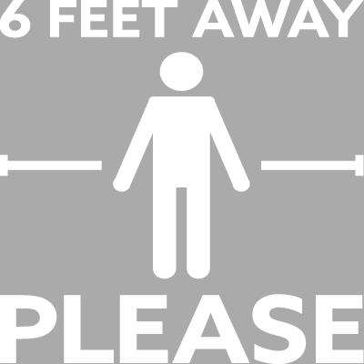 6 Pieds de Distance