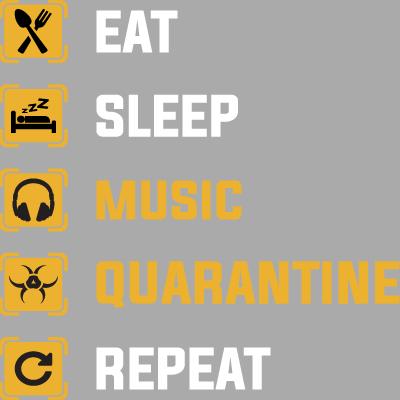 Eat Sleep Quarantine Repeat