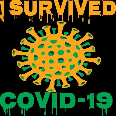 J'ai Survécu à Covid-19 Germes