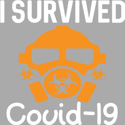J'ai Survécu à Covid-19 Masque