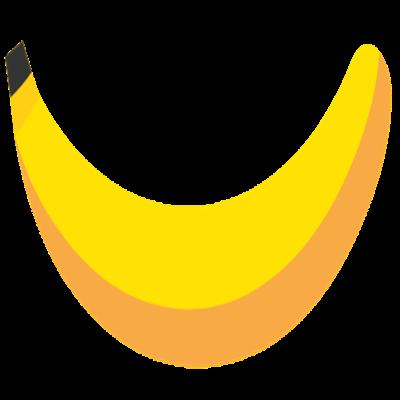 Sourire de banane