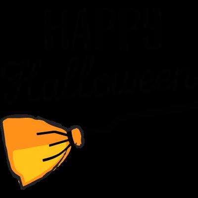 Joyeux Halloween bâton à air jaune