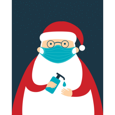 Père Noël Désinfectant