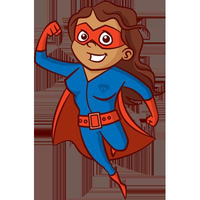 Brown Supergirl