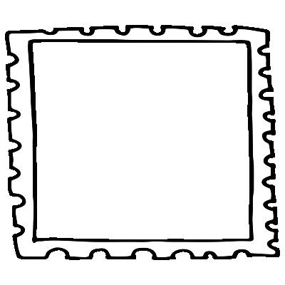 Bordure Stamp