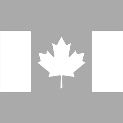 Canada Flag White