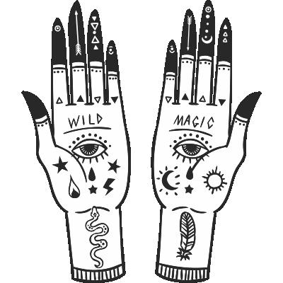 Mystical Hands