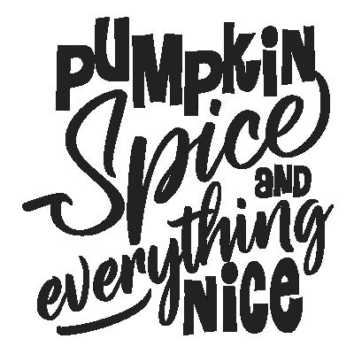 Pumpkin Spice et Tout Est Nice