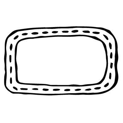 Rectangle Frame With Dots