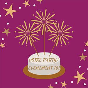 Votre fête / événement