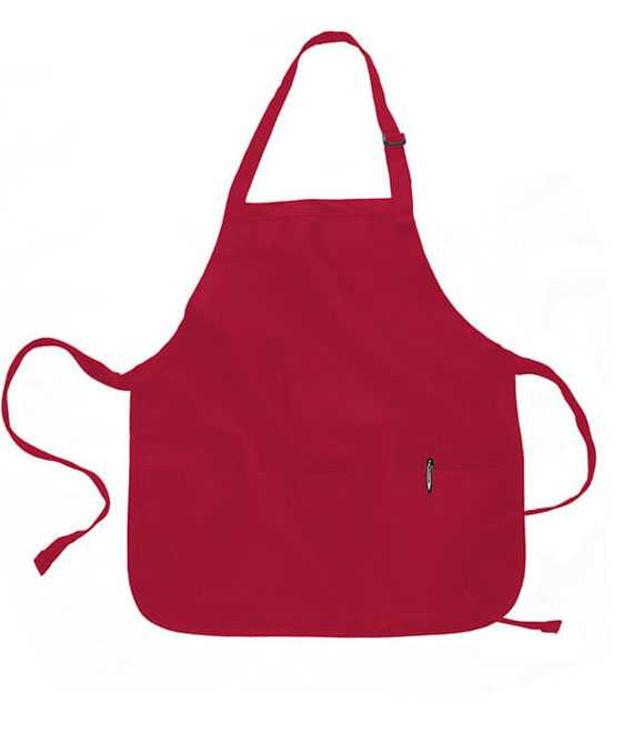 MEDIUM LENGTH APRON WITH 3 POCKETS