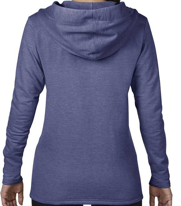 WOMEN HOODED FRENCH TERRY