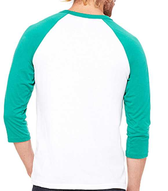 UNISEX 3 by 4 SLEEVE BASEBALL TEE