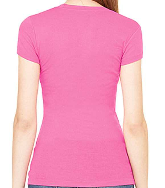 LADIES SHEER MINI RIB S by S TEE