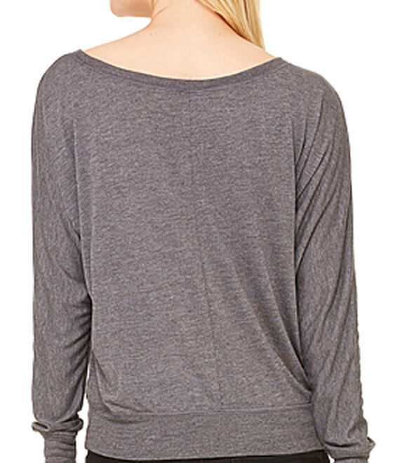 LADIES FLOWY L by S OFF SHOULDER TEE