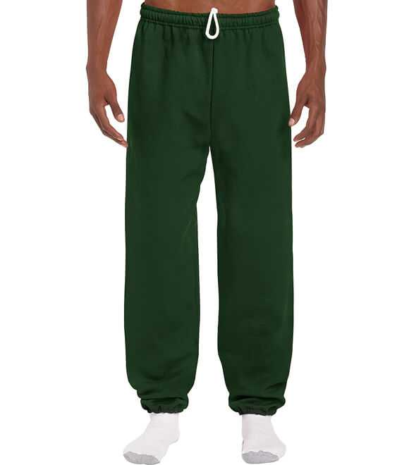 NO POCKET SWEATPANTS WITH ELASTIC CUFFS