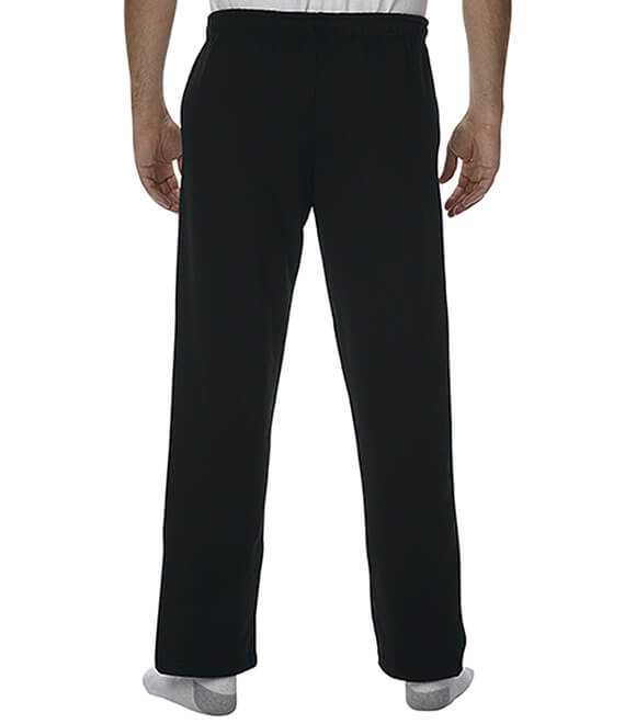 HEAVY BLEND OPEN BOTTOM SWEATPANTS WITH POCKETS