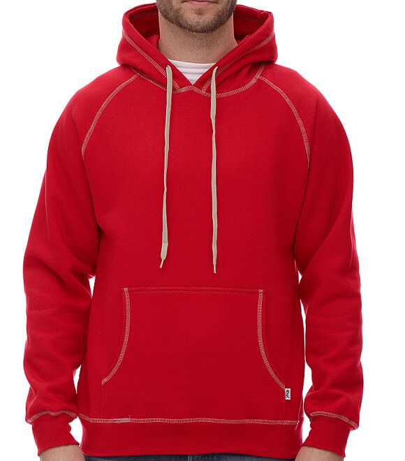 EXTRA HEAVY HOODED PULLOVER