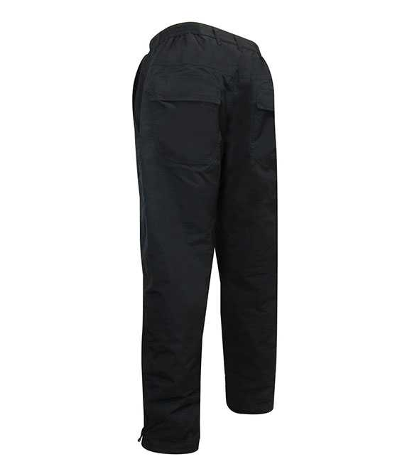 NYLON PANTS LINED WITH 100% POLAR FLEECE POLYESTER